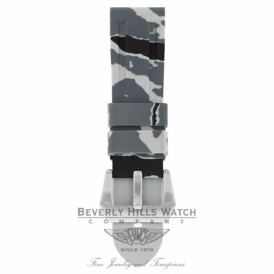 Horus Snow Camouflage Rubber Panerai Luminor 44mm Strap AHDD6D AHDD6D - Beverly Hills Watch Company