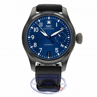 """IWC Blue Dial Automatic """"Boutique Rodeo Edition"""" 46mm IW502003 LH13AV- Beverly Hills Watch"""