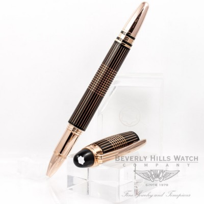 Montblanc Starwalker Red Gold Metal Fineliner Pen 106868 Beverly Hills Watch Company Pen Store