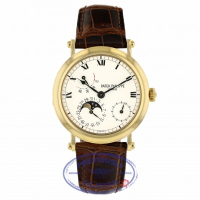 Patek Philippe Power Reserve Moon Phase 36mm Yellow Gold 5054J-001 UH22MY