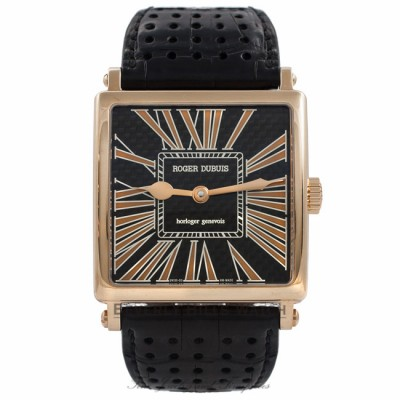Roger Dubuis Golden Square Golden Square No. 1 18K Rose Gold Horloger Genevois G40145K.97G CUFBIG - Beverly Hills Watch Company Watch Store