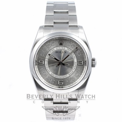 Rolex Oyster Perpetual 36MM Stainless Steel Watch 116000 Beverly Hills Watch Company