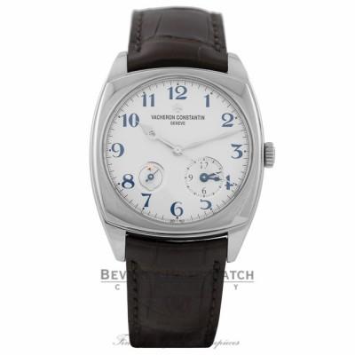 Vacheron Constantin Harmony Dual Time 40mm White Gold Watch  7810S/000G-B050 ZKFLZL - Beverly Hilss Watch Company