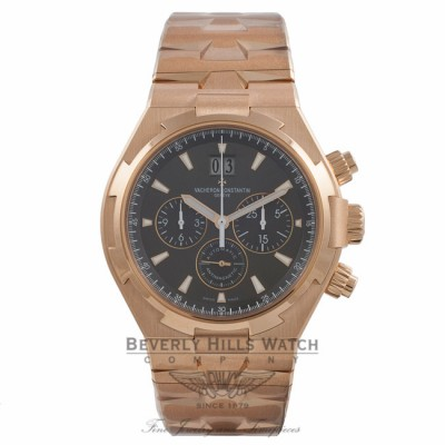 Vacheron Constantin Overseas Chronograph 42MM Rose Gold Brown Dial Brown 49151/B01R-9338 U7R5DJ