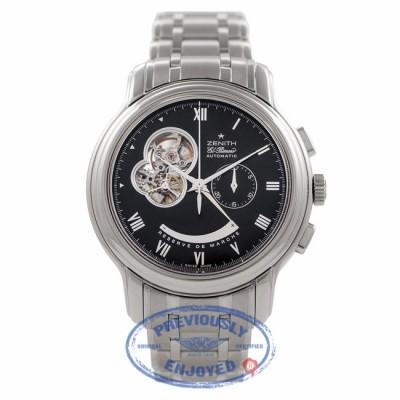 Zenith Chronomaster Open XXT Black Dial Stainless Steel 0312604021.21M Q3CQPL - Beverly Hills Watch Company Watch Store