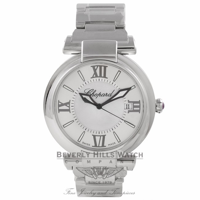 Chopard Imperiale 40MM Stainless Steel Automatic Silver Dial 38/8531-3003 TFAUME - Beverly Hills Watch Store