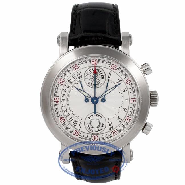 Franck Muller Biretro Chrono 7000 CCB WT6SRT - Beverly Hills Watch Company Watch Store