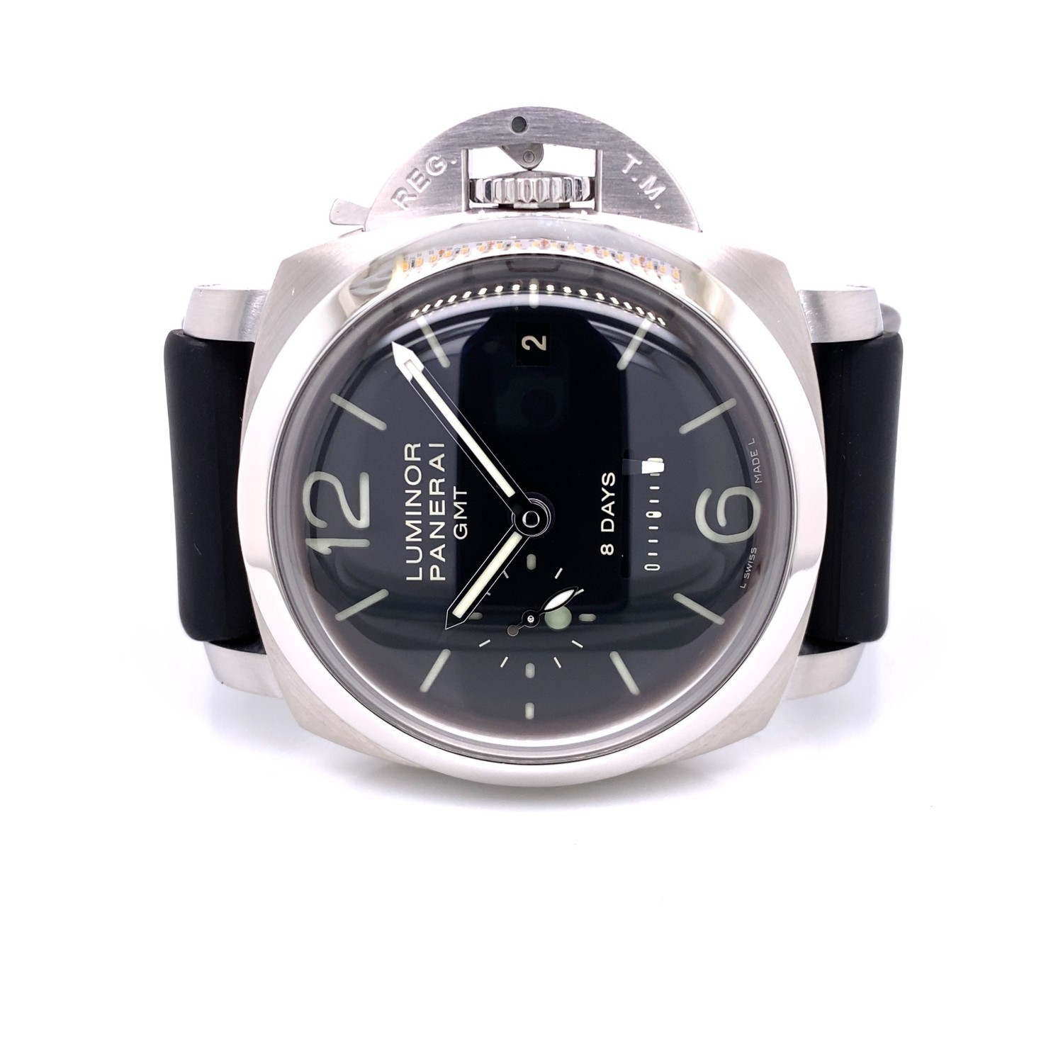 Panerai PAM00233 1950 Luminor 8 Day Power Reserve GMT PAM00233 MYL12Z