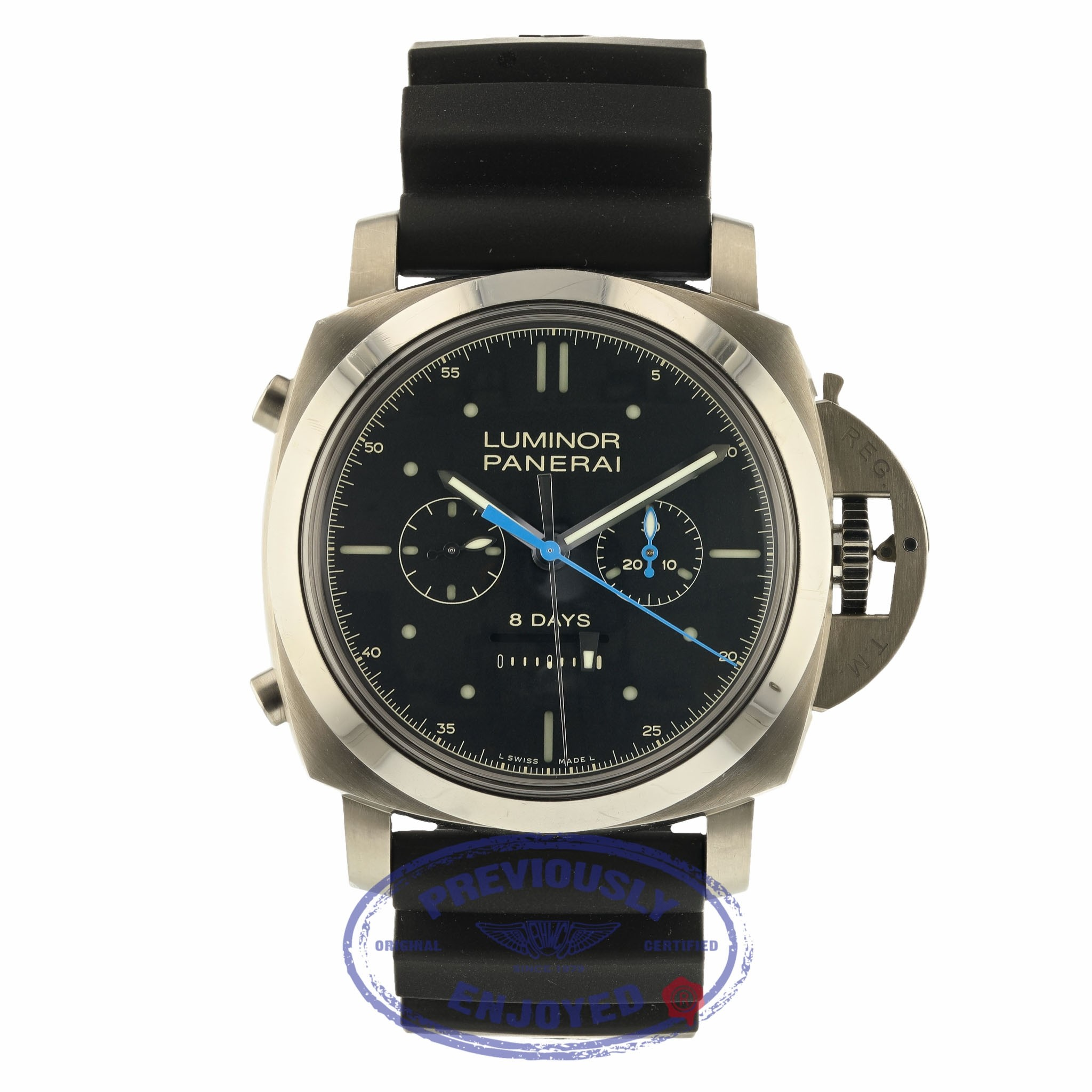Panerai Luminor 1950 Rattrapante 8 Days Black Dial PAM00530 7757K5