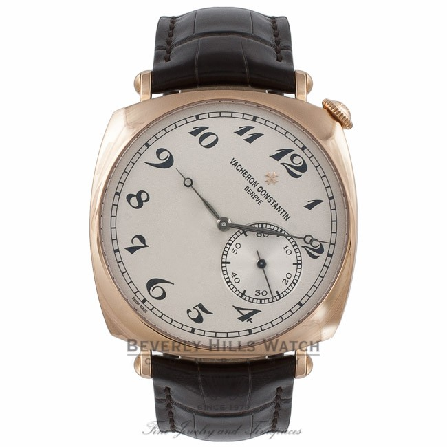 Vacheron Costantin Historiques American 1921 Rose Gold Watch 82035/000R-9359 K4WDHL - Beverly Hills Watch Company Watch Store