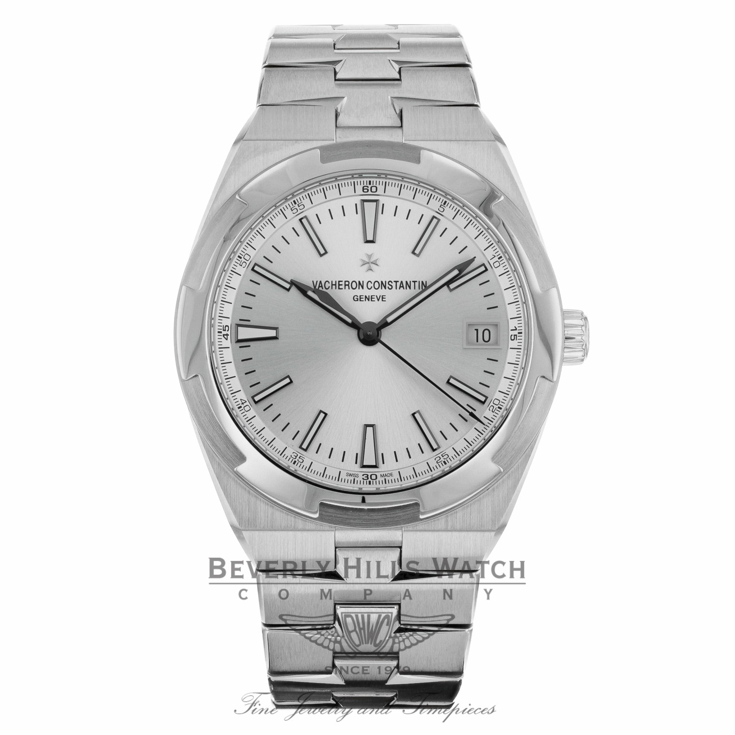 Vacheron Constantin 41mm Overseas Automatic Stainless Steel 4500V/110A-B126 EE49YR - Beverly Hills Watch