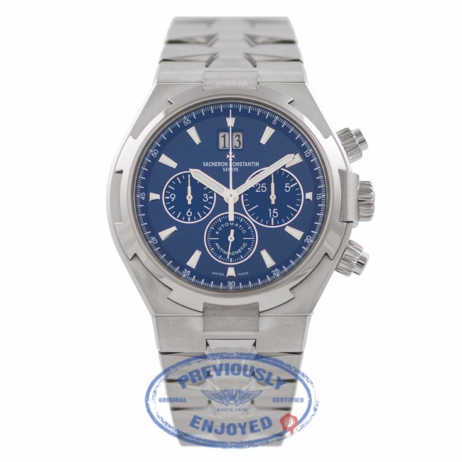 Vacheron Constantin Overseas 42MM Stainless Steel Blue Dial 49150/B01A-9745 MJHQMS - Beverly Hills Watch Company Watch Store