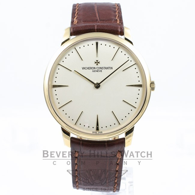Vacheron Constantin Patrimony Grand Traille 40mm 18K Yellow Gold Watch 8110-000J-9118 Beverly Hills Watch Company Watches