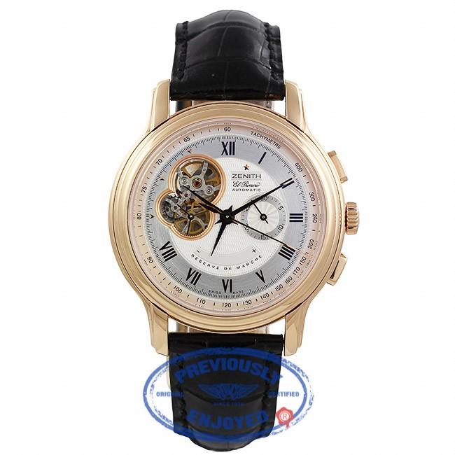 Zenith Chronomaster XXT Open Chronograph 45mm Rose Gold Watch 18.1260.4021/01.C505 TLVXER - Beverly Hills Watch Company
