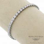 Nairs & C Classic Diamond Tennis Bracelet 18K White 7ZKP50 7ZKP50 - Beverly Hills Watch