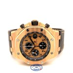 Audemars Piguet Royal Oak Offshore Chronograph 42MM Pink Gold 26470OR.OO.A002CR.01 2E69JY - Beverly Hills Watch Company