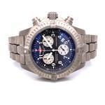 Breitling Avenger M1 44mm Titanium Grey Dial Quartz Chronograph E7336009/M507 3QXZWV - Beverly Hills Watch Company