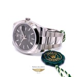 Rolex Datejust 41mm Smooth Bezel Grey Dial 126300 1N5U1V - Beverly Hills Watch Company