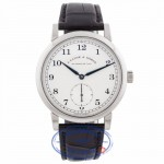 A. Lange & Sohne 1815 Manual Wind 40mm White Gold Alligator Strap 233.026 4544XF Beverly Hills Watch Company