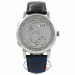 A. Lange & Sohne Lange 1 Time Zone Platinum 116.025 VAIZJL - Beverly Hills Watch Company Watch Store