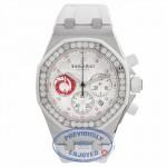 Audemars Piguet Royal Oak Offshore Alinghi 37MM Ladies Stainless Steel Diamond Bezel 26076SK.ZZ.D010CA.01 K0LM8A - Beverly Hills Watch Company Watch Store