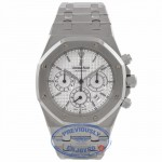 Audemars Piquet Royal Oak Chronograph 39MM Automatic Stainless Steel Silver Dial 25860ST.OO.0110ST.05 7Z1DP8 - Beverly Hills Watch Company Watch Store