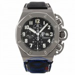 Audemars Piguet Royal Oak Offshore T3 47MM Automatic Titanium Black Dial 25863T1.OO.A001CU.01 41YVCA - Beverly Hills Watch Company Watch Store
