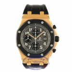 Audemars Piguet 42mm Royal Oak Offshore 18kt Rose Gold 25940OK.00.D002CA.01.A NYQZHD - Beverly Hills Watch