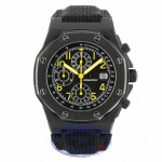 Audemars Piguet End of Days Black PVD Stainless Steel Black Dial Kevlar Strap 25770'SN.0.0009KE.01 15369 - Beverly Hills Watch