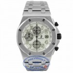 Audemars Piguet Royal Oak Offshore 42mm Chronograph Watch Stainless Steel Silver Dial Themes 26020ST.OO.D001IN.02.A 7RZVP8 - Beverly Hills Watch Company