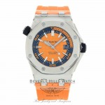 Audemars Piguet Offshore Diver Orange Dial 42mm Boutique Edition 15710ST.OO.A070CA.01 8YAD49 - Beverly Hills Watch
