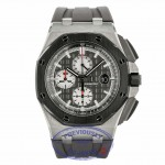 Audemars Piguet Royal Oak Offshore 44mm Titanium and Ceramic Slate Grey Dial 26400IO.OO.A004CA.01 2D53W2  - Beverly Hills Watch