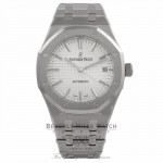 Audemars Piguet Royal Oak Stainless Steel 37MM Silver Dial 15450ST.00.1256ST.01 DYEA8Z - Beverly Hills Watch Company