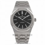 Audemars Piguet Royal Oak 41MM Stainless Steel Black Dial 15400ST.OO.1220ST.01 CFVR1R - Beverly Hills Watch Company