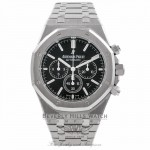 Audermars Piguet Royal Oak Chronograph 41mm Stainless Steel Black Dial 26320ST.OO.1220ST.01 AHEFJA - Beverly Hills Watch Company Watch Store
