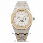 Audemars Piguet Royal Oak Day-Date 36MM 18k Yellow Gold Stainless Steel 25594SA.OO.0789SA.06 B5FXNY - Beverly Hills Watch Company Watch Store