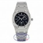 Audemars Piguet Royal Oak Blue Dial Dual Time Stainless Steel 25730ST.OO.0789ST.06 7M7EFM - Beverly Hills Watch Company