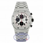 Audemars Piguet Offshore Chronograph 44mm Stainless Steel Case Panda Dial 26170ST.OO.1000ST.01 6MH05Y - Beverly Hills Watch Company