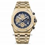 Audemars Piguet 18k Yellow Gold Royal Oak Offshore Chronograph 42mm 26470BA.OO.1000BA.01 4WT03W - Beverly Hills Watch