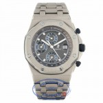 Audemars Piguet Royal Oak Offshore Titanium Slate Dial 25721.TI.OO.1000.TI.01 5KUVDD - Beverly Hills Watch Company