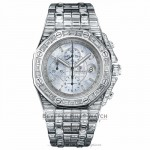 Audemars Piguet Royal Oak Offshore Chronograph Mother of Pearl Dial Diamond Bezel Case and Bracelet 26174BC.ZZ.8042BC.01 - Beverly Hills Watch Company Watch Store