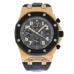 Audemars Piguet Royal Oak Offshore Rubber Clad 42mm 18k Rose Gold 25940OK.OO.D002CA.02 H7E47P - Beverly Hills Watch Company