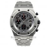Audemars Piguet Offshore Chronograph 44mm Gray/Black Dial Themes Titanium Case/Bracelet Watch 26170TI.OO.1000TI.011 Beverly Hills Watch Company Watches