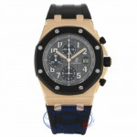 Audemars Piguet Royal Oak Offshore Rubber Clad 42mm 18k Rose Gold 25940OK.OO.D002CA.02 2CANWE - Beverly Hills Watch Company