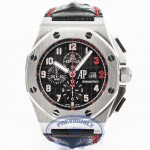 Audemars Piguet Royal Oak Offshore 'Shaq' Limited Edition Stainless Steel 48mm Chronograph Black Dial Automatic Watch 26132ST.OO.A101CR.01 Beverly Hills Watch Company Watch Store
