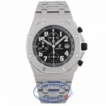 Audemars Piguet Royal Oak Chronograph 44MM Stainless Steel Black Dial Bracelet 25721ST.OO.1000ST.08 UXMVYQ - Beverly Hills Watch Company