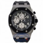 "Audemars Piguet ""Rubber Clad"" Royal Oak Offshore Chronograph 42MM Black Dial Stainless Steel Rubber Strap 25940SK.OO.D002CA.03 K2R8KP"