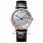 Breguet Classique Automatic 33.5mm 18kt Rose Gold 9068BR/12/976/DD00 7Q64TL - Beverly Hills Watch