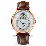 Breguet Classique Day Date Moonphase 39mm 18kt Rose Gold 7337BR/1E/9V6 YMXQC5 - Beverly Hills Watch