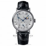 Breguet Classique Power Reserve Silver Dial Automatic White Gold 7137BB/11/9V6 F8M7CR - Beverly Hills Watch